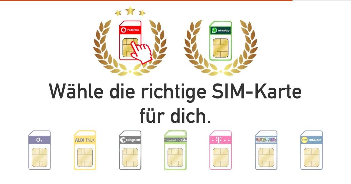 Aldi Talk Sim Karte Entsperren.Prepaid Sim Karten Vergleich 2019 Gratis Sim Karten Ohne Vertrag